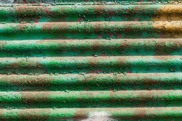 aged corrugated sheet