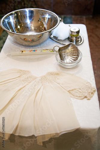 Catholic symbols of Baptism - 70655020