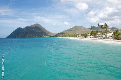 Leinwanddruck Bild Le diamant Martinique 05