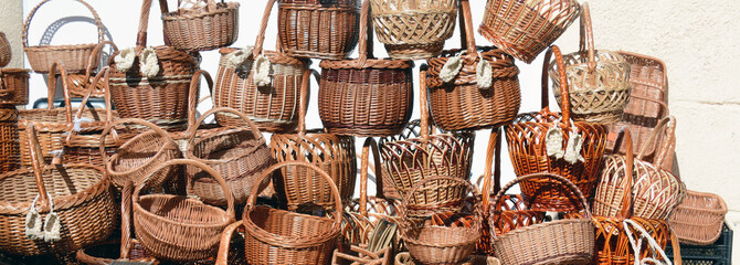 traditional wicker baskets for sale