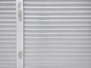 metal shutter door pattern with vertical frame