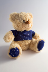 Beautiful teddy bear with stars look