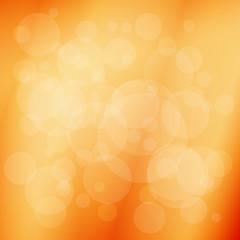 Soft orange abstract background. Vector illustration