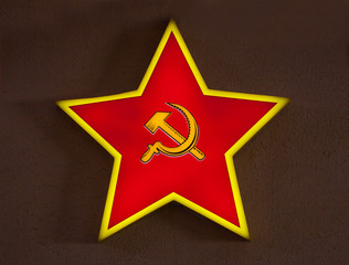 russian red star
