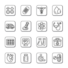 Medical Doodle Icons