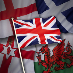 Flags of the United Kingdom of Great Britain