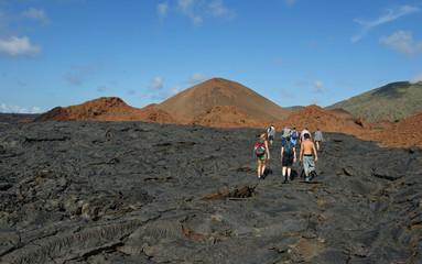 Randonnée sur les Galapagos