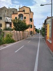 Pista ciclabile San Lorenzo al mare - Imperia Italia