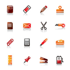 Stationary Colorful Icons