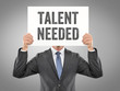 Постер, плакат: Talent needed