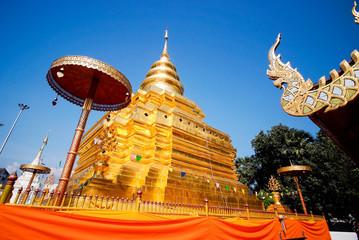 Wat Phra That Si Chom Thong Worawihan, .Chiang Mai, Thailand