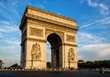 Arch of Triumph (Arc de Triomphe) with dramatic sky - 70660223