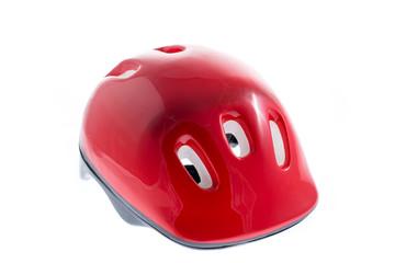 Red helmet for kid