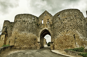 French medieval fort