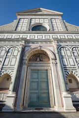 Santa Maria Novella, the city's principal Dominican church. Flor