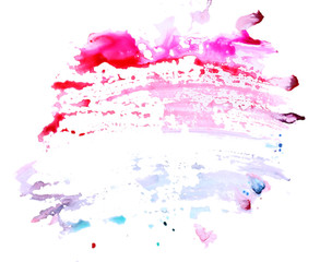Abstract background made with watercolor paints
