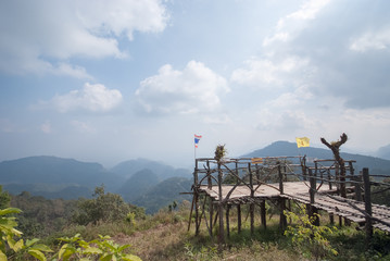Viewpoint  at Ang Khang, Chiang Mai, Thailand