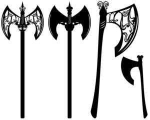 axes decorative design