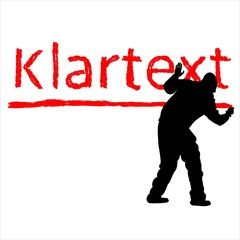 Klartext Inweis Rat Tipp vektor Note plaintext Council Tip