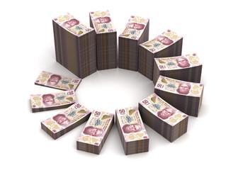 Mexican Pesos Chart