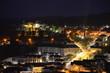 Night view over Wiltz, Luxembourg.
