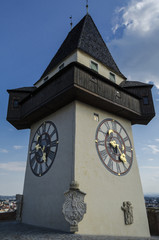 Tower in Graz, Austria