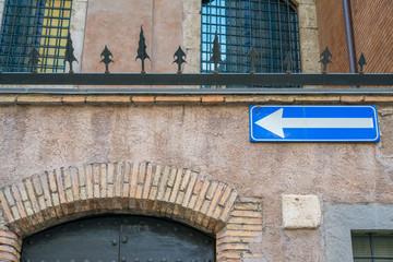 Roma, piazza in Piscinula (part)