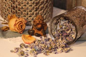 buntes Blüten - Potpourri
