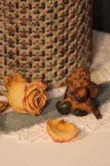 getrocknete Vintage Rose