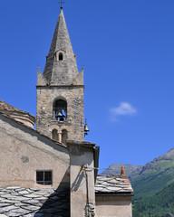 église de haute maurienne à  Lanslevillard