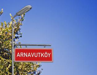 Tabela Arnavutköy İstanbul