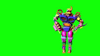 Plastic Dancing Robot