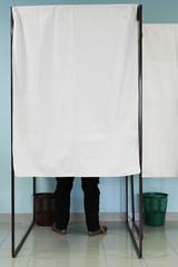 ELECTIONS - ISOLOIR