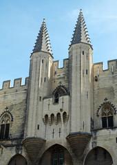 Entrata del Palazzo dei Papi, Avignone, Provenza, Francia