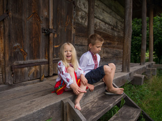 little ukrainian children