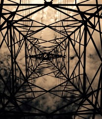 hight electrical silhouette