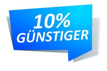 Web Element gratis 10% guenstiger