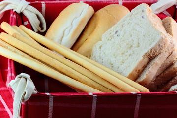 Cestino con il pane