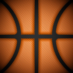 Basketball background, close-up view