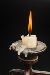 Candle in a candlestick 2