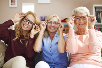Fashion frames of glasses for each, despite of age
