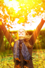 Spaß in der Herbstsonne