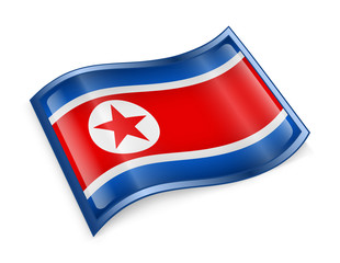 Northern Korea Flag Icon