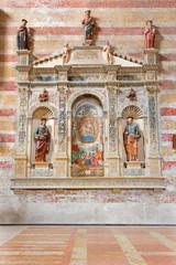 Padua - Tomb of Umberto da Carrara in church of The Eremitani