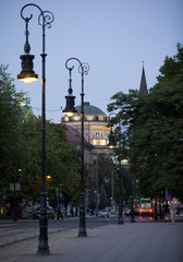 Bridge Theatre in Poznan, Poland