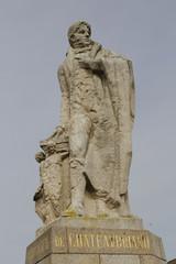 statue de François-René de Chateaubriand à Saint-malo