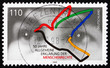 Postage stamp Germany 1998 Human Eyes and Dove