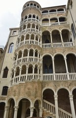The Palace Bovolo in Venice, Italy