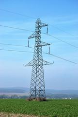 Ligne électrique à haute tension