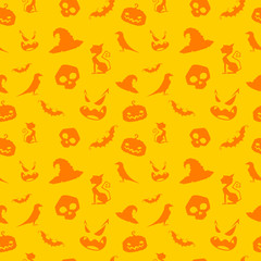 Seamless background for Halloween